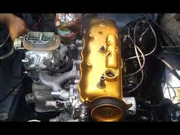 4ac ae86 fresh built weber carb part 2 - YouTube