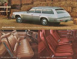 GM 1976 Wagons Chevrolet Sales Brochure