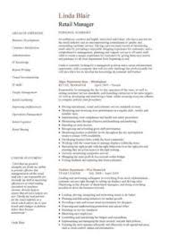 Cv Retail Retail Cv Template Sales Environment Sales Assistant Cv