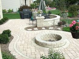 outdoor stone fire pit. Paver Fire Pit Kit Home Depot Stone Unique Outdoor Kits .