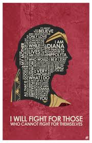 Wonder Woman Quotes Awesome Wonder Woman Quote Poster By OutNerdMe By Outnerdme On DeviantArt