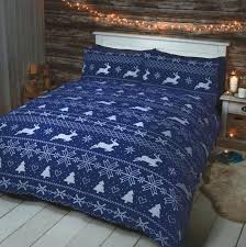 king size duvet sets cover set brushed cotton blue super asda