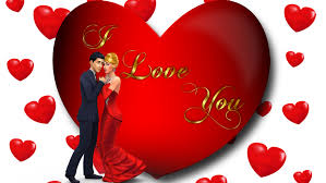i love you loving couple red heart desktop hd wallpaper for mobile phones tablet and pc 3840 2400