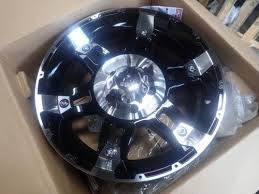 5x5 Bolt Pattern Wheels Gorgeous 448 NEW KMC XD448 Black Machined Finish Wheels 448x4848 48x48 Bolt