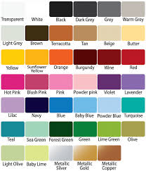 Under Armour Color Chart Prime Decals Vinyl Colors