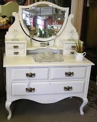 elegant white french vanity desk design