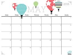 monthly printable calendar 20 free printable calendars for 2016 cute monthly calendars cute