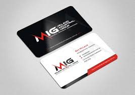 Industrial Visiting Card Design Elegant Professional Business Business Card Design For A