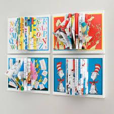 childrens books wall art