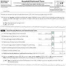 Sample Medicare Application Form Impressive 44 Instructions For Schedule H Form 44 Household Employment