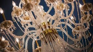photo of chandelier at paris las vegas