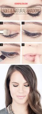 soft and natural shadow wonderful eye makeup tutorials you