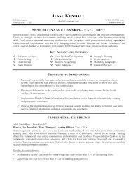 Resume For Personal Banker Sample Resumes Format Mmventures Co