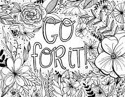 Free Encouragement Coloring Page Printable Dawn Nicole Designs