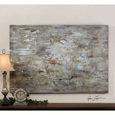 hover to zoom on uttermost large wall art with uttermost middle hand painted 70 inch abstract decorative art 34267