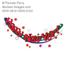 happy new year banner clip art. Intended Happy New Year Banner Clip Art