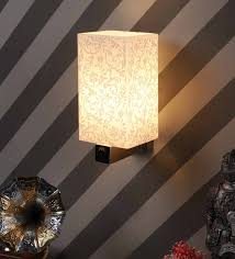 silver glass wall light by