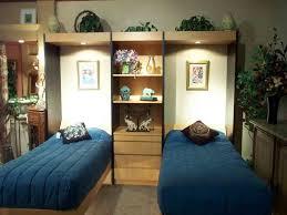 2 twin murphy beds