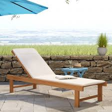 teak mesh chaise lounge outdoor wicker chaise teak chaise lounge