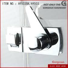 shower door latch door control lock shower room sliding door latch shower door magnetic latch replacement shower door latch