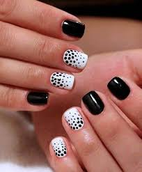 impressive designs red black. Black And White Manicure On Short Nails Looks Impressive Elegant. The Shine Of Dark Designs Red E
