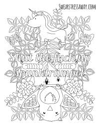 Cuss Word Coloring Pages Black Hole Coloring Page Shut The Fuck Up
