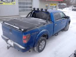 Heavy-Duty Truck Bed Cover & Custom Roll Bar LINE-Xed on B… | Flickr