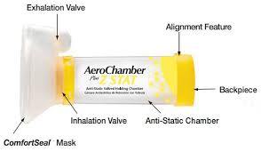 Aerochamber Age Chart Monaghan Aerochamber Plus Z Stat Anti Static Valved Holding Chamber With Comfortseal Mask