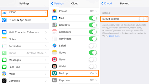 How To Keep Your Iphone Or Ipad From Backing Up With Icloud