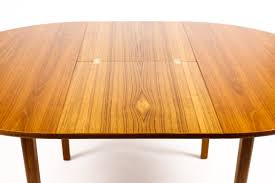 Danish Modern Dining Table 1161 Danish Modern Mid Century Teak Expandable Dining Table