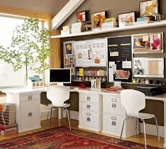 creative home office. brown u0026 white home office eclectic creative