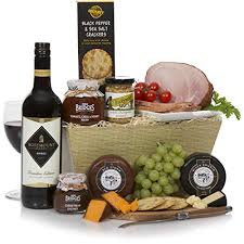 boxing day food feast her premium ham cheese wine luxury food makes the perfect present