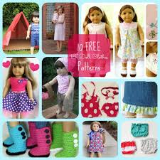 American Girl Clothes Patterns Beauteous Block Party Free American Girl Doll Patterns Features Rae Gun