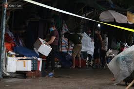Sáng 25/5, ubnd quận hà đông (hà nội) đã tạm phong toả chợ xanh văn quán để khử khuẩn phòng dịch. Gp8la7zyeb5hsm