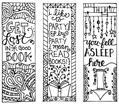 Christmas coloring pages for kids & adults to color in and celebrate all things christmas, from santa to snowmen to festive holiday scenes! 6 Best Free Printable Coloring Bookmarks For Kids Printablee Com