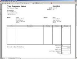 Excel Sales Invoice Template Excel Sales Invoice Template Business Accounting Finance Aol
