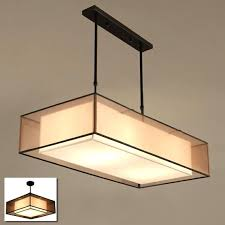 fabric ceiling square fabric ceiling light lamp foyer dinning reading room semi flush suspended fabric ceiling