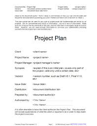 Sample Project Plan Outline 14 Simple Project Plan Examples Pdf Docs Examples