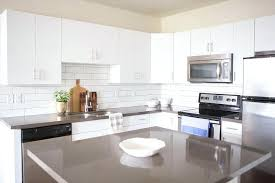 white flat front cabinets with grey quartz quartz countertops with white cabinets white flat front cabinets