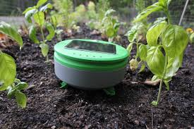 the tertill robot acts like a roomba for your garden but s weeds not dirt