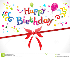 Happy Birthday Sign Templates Abstract Happy Birthday Template Stock Vector Illustration Of