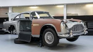 Aston Martin Goldfinger Db5 Continuation Model With Working Gadgets Youtube