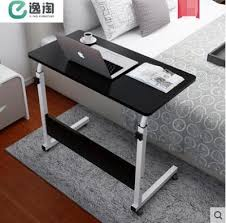 Bedside laptop table Portable Qoo10 Simple Laptop Table Bed With Simple And Modern Home Lifting Bedside De Furniture Deco Qoo10 Qoo10 Simple Laptop Table Bed With Simple And Modern Home Lifting