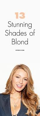 The Best Shades Of Blond As