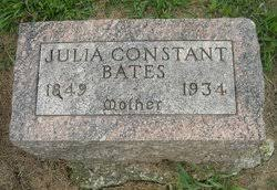 Julia Ann Constant Bates (1849-1934) - Find A Grave Memorial