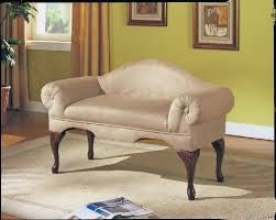 living room bench. acme aston biege microfiber bench with rolled arm living room e
