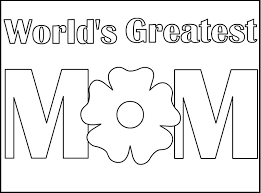 I Love Mom Coloring Pages Printable Color Bros