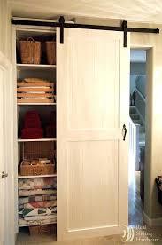 sliding barn closet doors white closet sliding barn doors because i kind of always wanted to