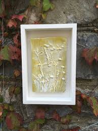 rustic clay wall art pretty raised impression of mixed seed heads yellow and white on clay wall art pinterest with rustic clay wall art pretty raised impression of mixed seed heads
