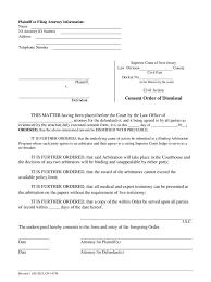 Consent Order Form Consent Consent Order Form 1
